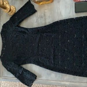 Zara lace body con dress